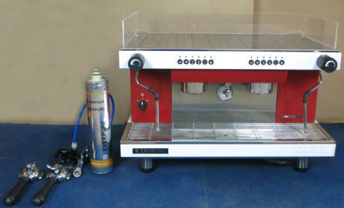 Sanremo Zoe 2 Group Commercial Espresso Coffee Machine new in September 2015